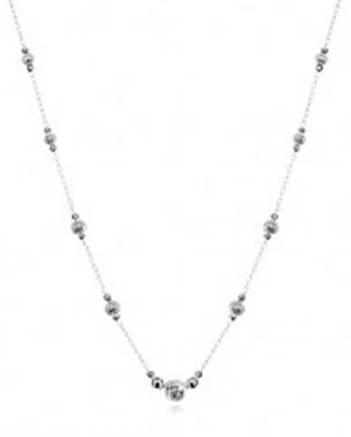 Strieborný 925 náhrdelník, ...