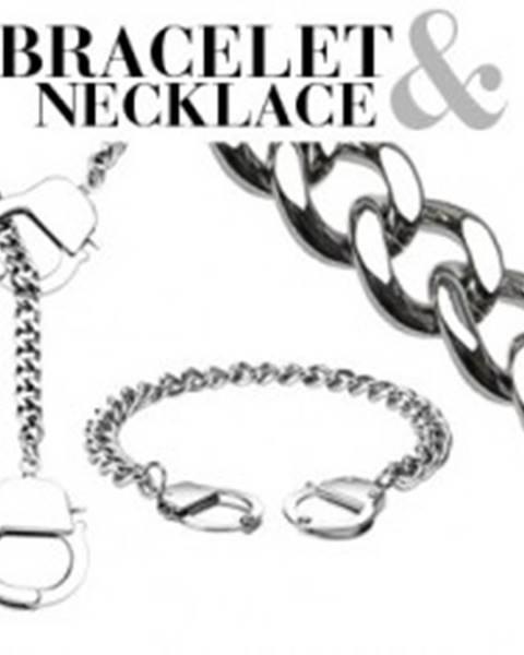 Retiazkový set - náramok a náhrdelník s putami Q11.16