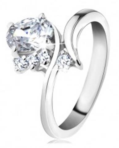 Ligotavý prsteň so zahnutým...