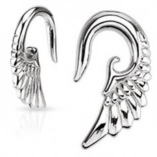 Taper do ucha - 316L, lesklé anjelské krídlo - Hrúbka: 1,6 mm