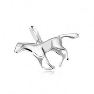 Prívesok - cválajúci kôň, striebro 925