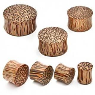 Plug do ucha - kokosové drevo - Hrúbka: 10 mm