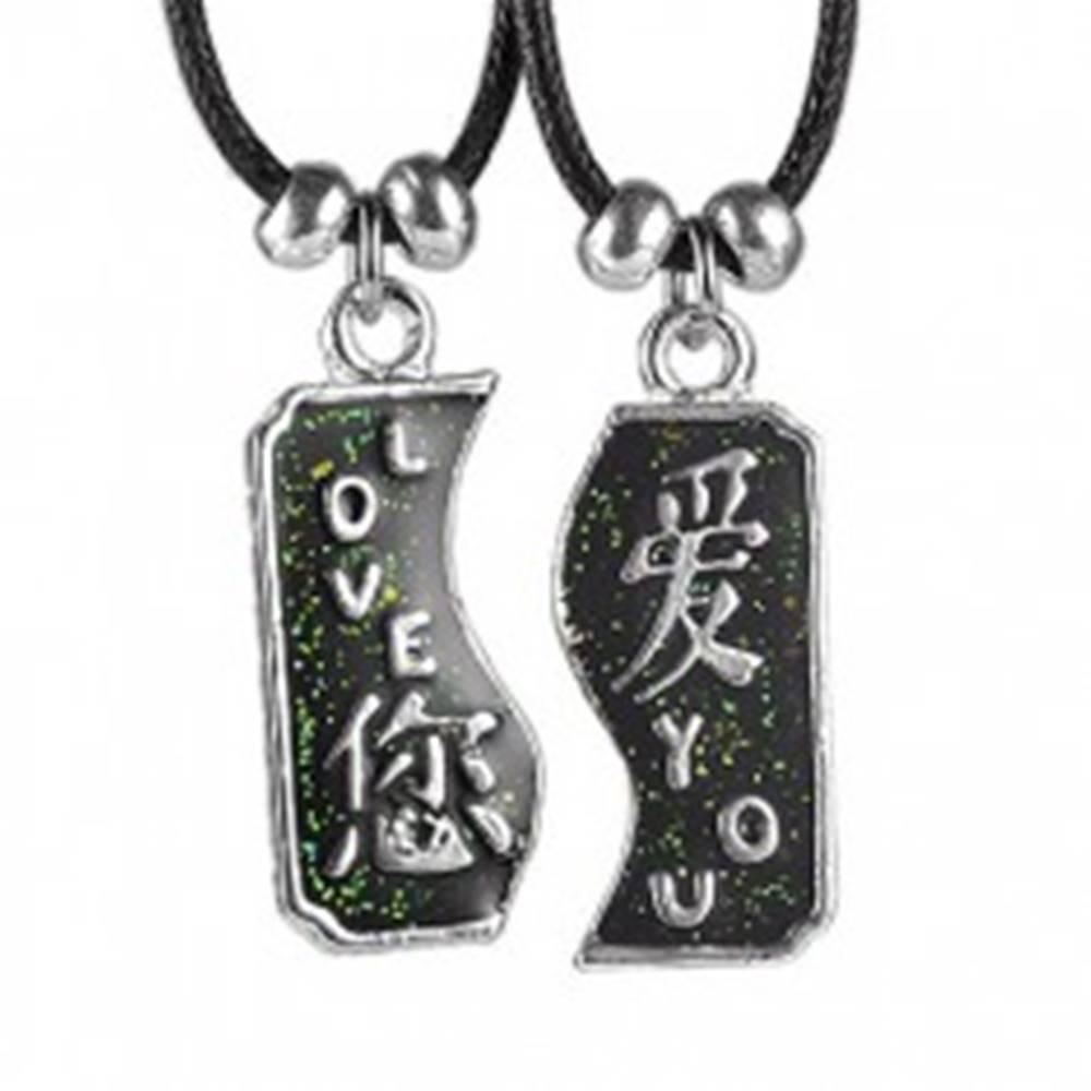 Dvojdielny náhrdelník LOVE ...