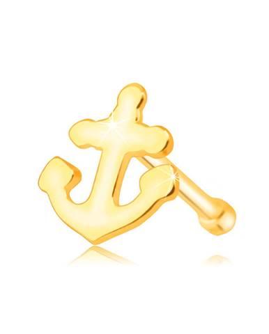Zlatý 585 piercing do nosa ...